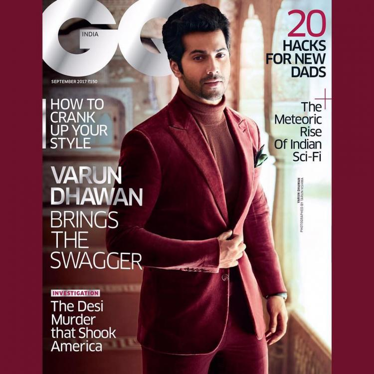 Varun Dhawan looks dapper on the cover of GQ