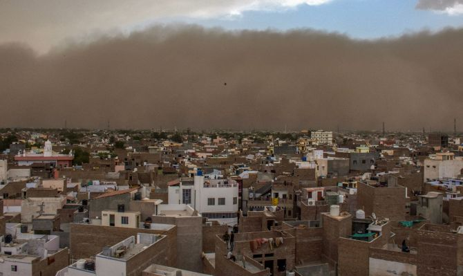 Over 70 killed as dust storm wreaks havoc in UP, Rajasthan