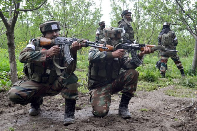 Indian Army busts NSCN-K hideouts on Myanmar border