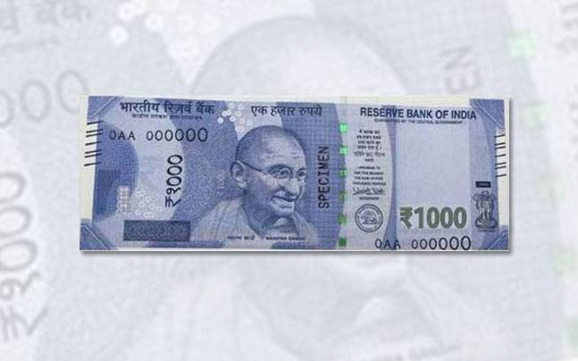 No plan to introduce new Rs 1,000 note: Economic Affairs Secretary Shaktikanta Das