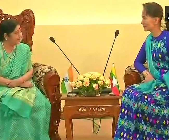 India, Myanmar sign seven agreements as Swaraj meets Suu Kyi