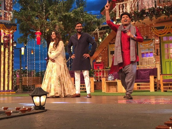 Shivaay: Ajay Devgn turns 'prankster' on 'The Kapil Sharma Show'