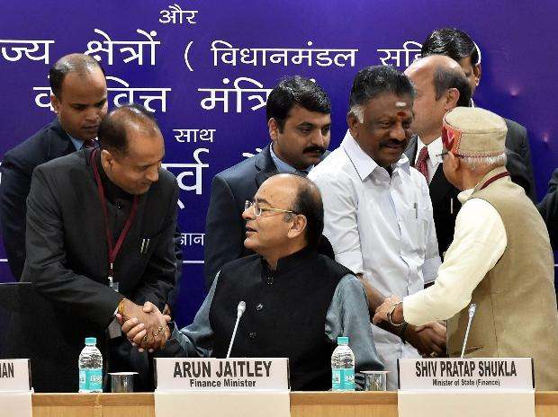 FM Jaitley chairs pre-budget meeting in Delhi