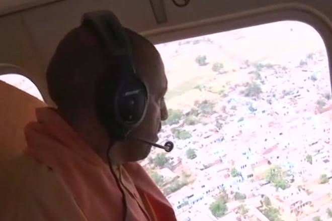 Dust storm kills 73 in UP: Yogi Adityanath visits victims, takes aerial survey of affected areas