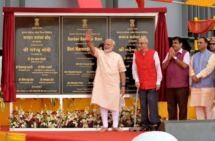 On his 67th birthday, PM Modi dedicates Sardar Sarovar Dam to nation