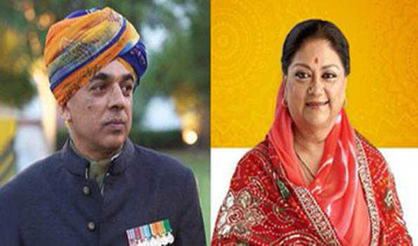 Rajasthan polls: Congress fields Jaswant Singh's son Manvendra against CM Vasundhara Raje
