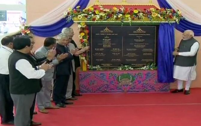 PM Modi inaugurates Sikkim's first ever airport