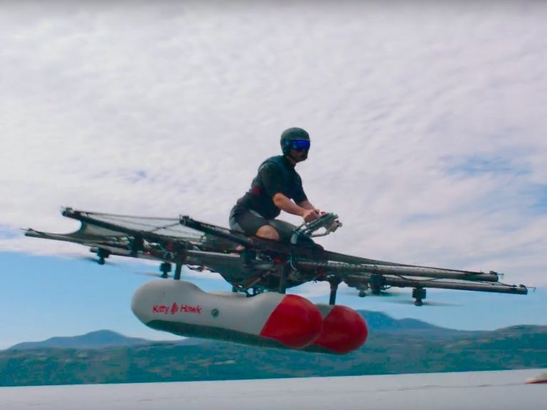 'Personal Flying Machine', Backed By Google Co-Founder, On Sale This Year