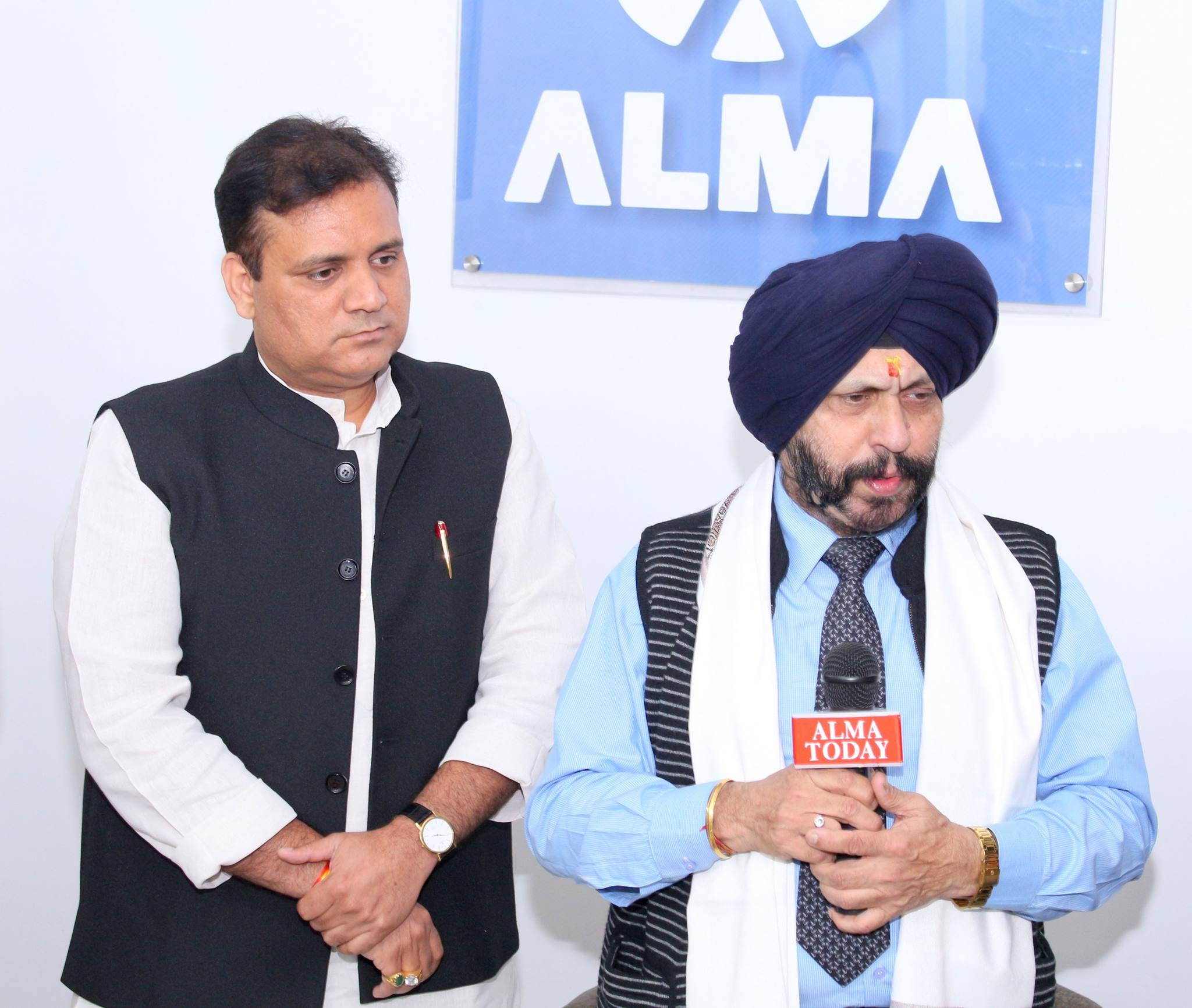 J.S. Ahluwaliya gets felicitated for promoting economic development by ALMA ​