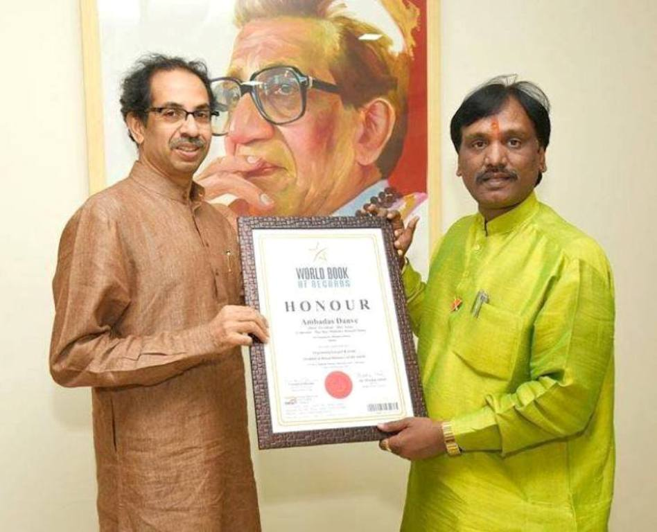 Ambadas Danve of Maharashtra Bags World Record for Organizing Largest Kawad of World