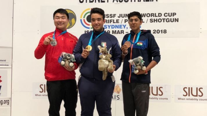 ISSF Junior WC: Vivaan Kapoor helps India bag two bronze medals