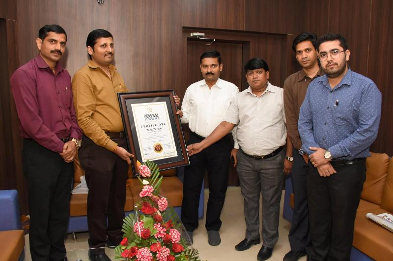 Punit Purohit Indore (Madhya Pradesh) India gets included in World Records