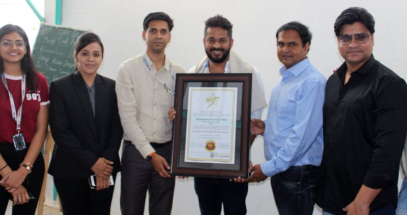 Mangosteen Eco Life Style Indore (Madhya Pradesh) India Gets certified by World Standardization Certification (UK))