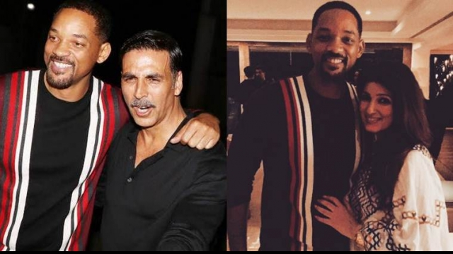 Will Smith joins Akshay-Twinkle's 'Rustom' celebration
