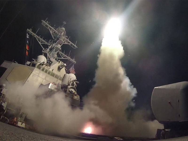 US fires missiles at Assad airbase; Russia denounces 'aggression'