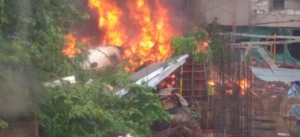 5 people dead after chartered plane crashes in Mumbai's Ghatkopar