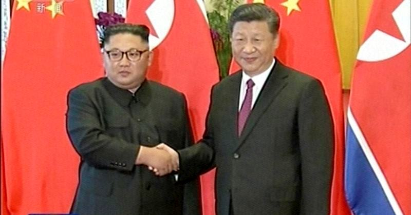 North Korea's Kim thanks China for support with Trump summit