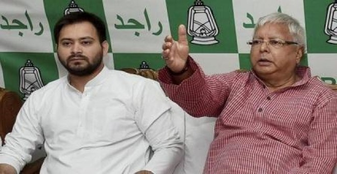 CBI summons Lalu, son Tejashwi in hotels-for-land scam