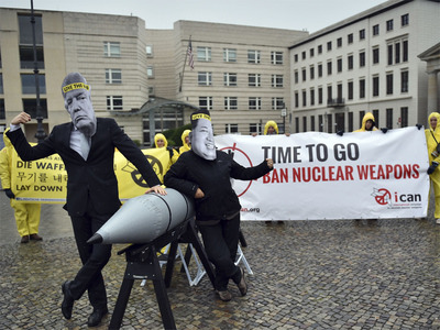 Anti-nuclear campaign ICAN wins 2017 Nobel Peace Prize