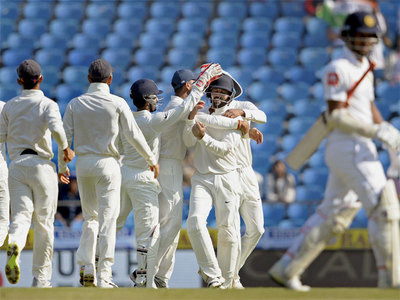 2nd Test: Dominant India cruise to innings win over Sri Lanka, take 1-0 lead