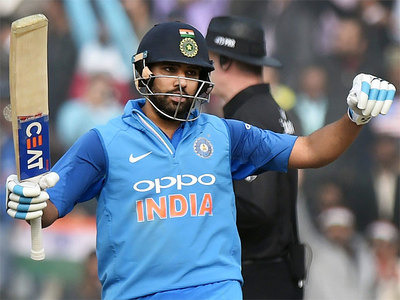 India v Sri Lanka, 2nd ODI: Rohit Sharma scores third ODI double-century
