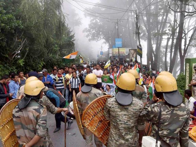 Darjeeling shutdown enters 20th day, situation remains tense