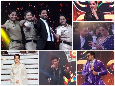 Bollywood stars shine at Umang 2018 show