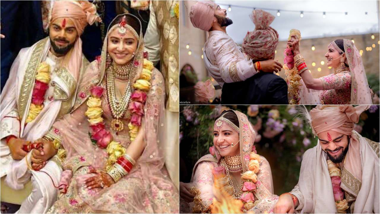 Dreamy Pics From #VirushkaWedding