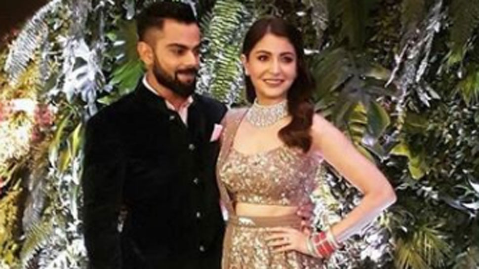 Glamorous couple Anushka-Virat hosts wedding reception in Mumbai
