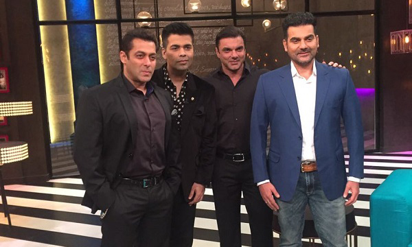 Salman to appear on 100th episode of 'Koffee With Karan'