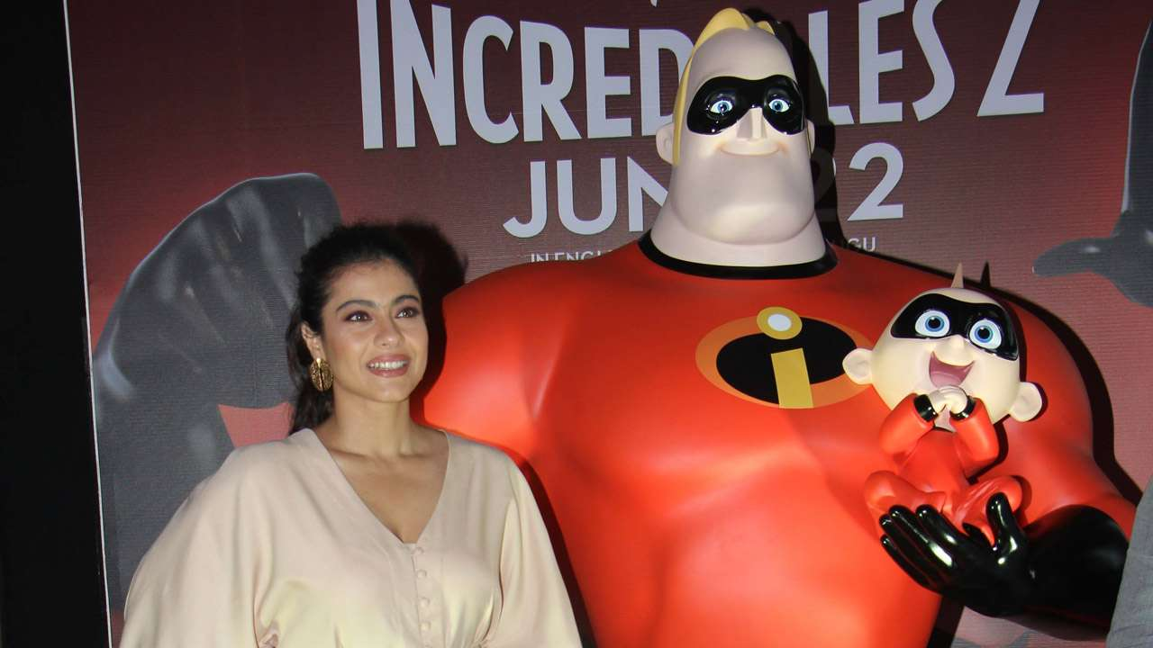 Kajol speaks about her role in 'Incredibles 2'