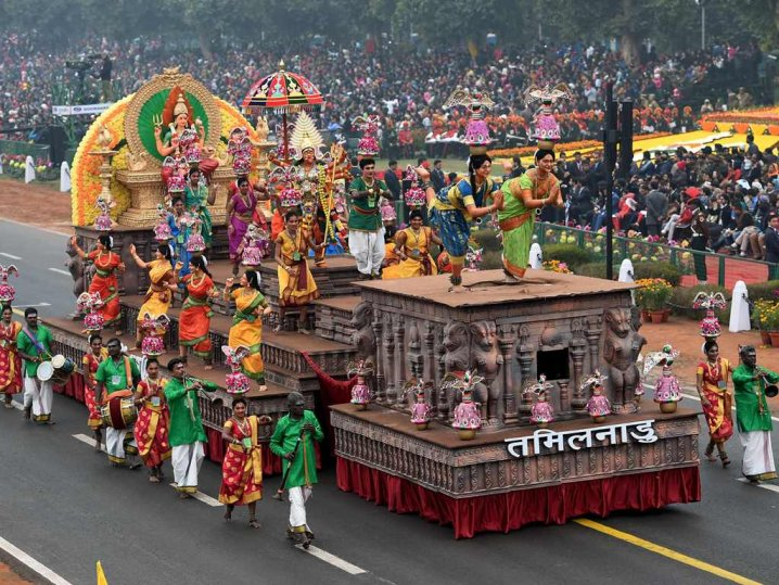 68th Republic Day: Tableaux reflect diverse Indian culture