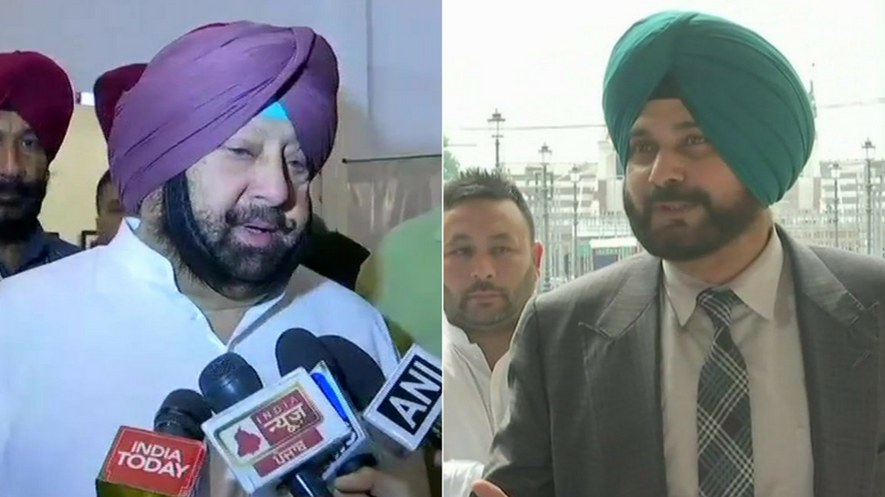 Glaring eyes on Navjot Singh Sidhu ahead of Punjab government's cabinet meeting