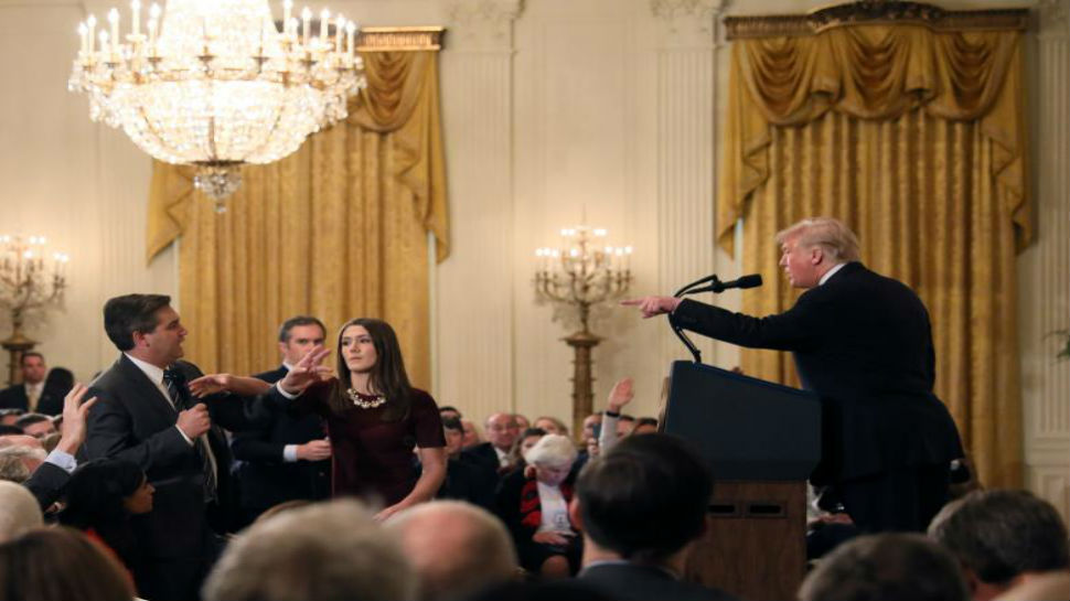 White House restores access for CNN's Acosta, ending legal fight