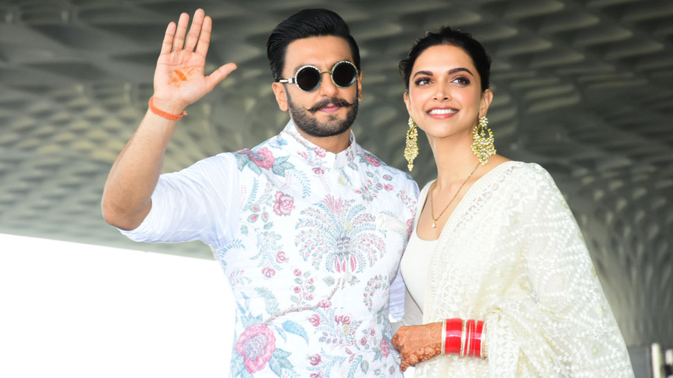 Deepika Padukone-Ranveer Singh go twinning again, head to Bangalore for reception