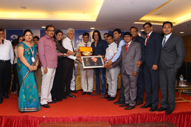 Actor Rahul Roy gets felicitated by ALMA Silver Jubilee Award