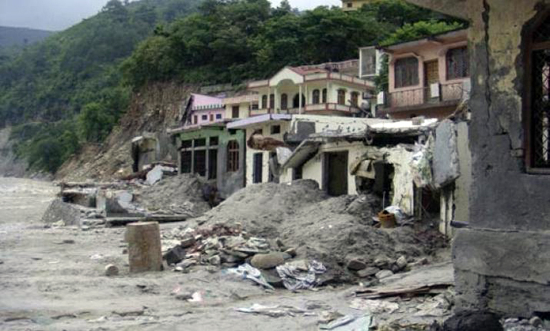Cloudburst in U'khand, Seraghat Hydro Power project damaged