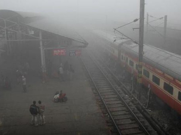 Cold wave chokes rail, road, air traffic in Northern India