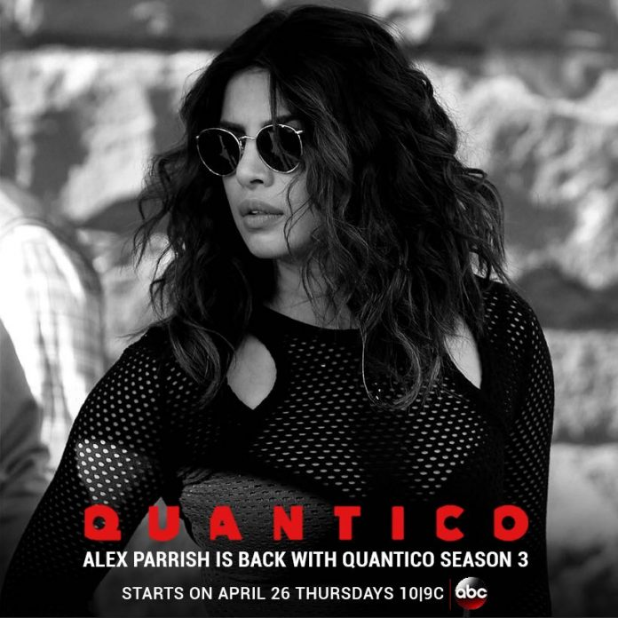 'Quantico' season 3 to arrive on April 26, confirms PeeCee
