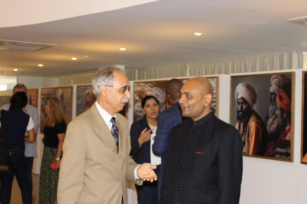 Exhibition inaugurated at Indian Embassy in Brazil