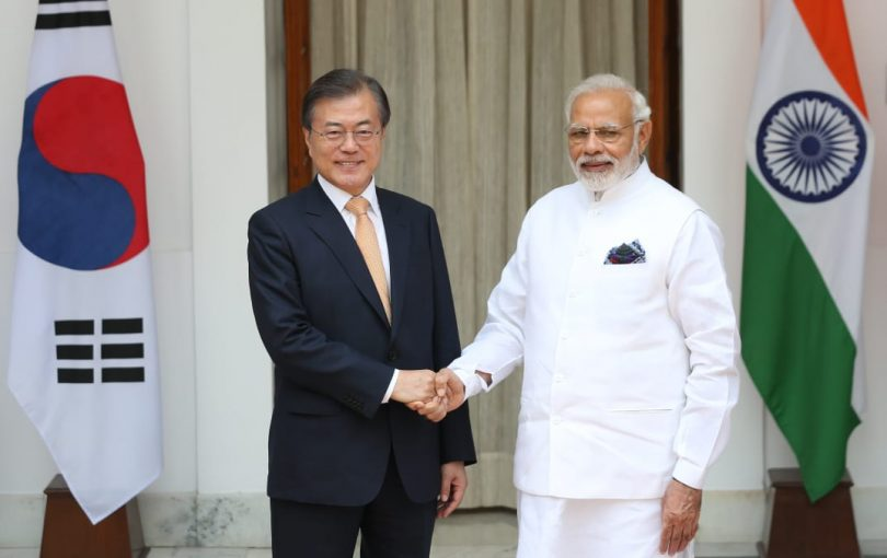 President Moon praises PM Modi for strengthening India-Korea relations