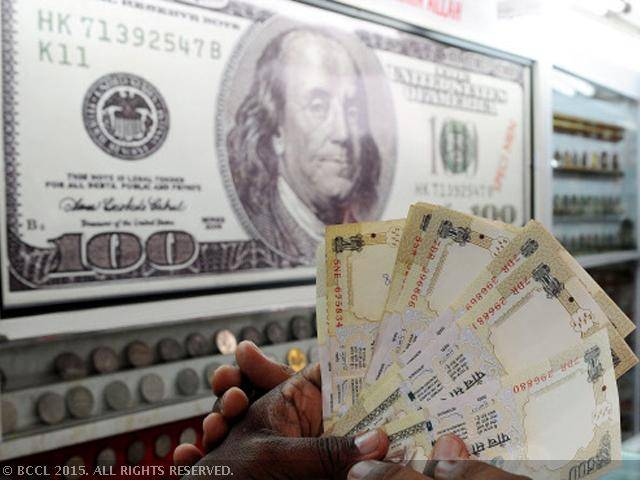 US dollar drops against rupee