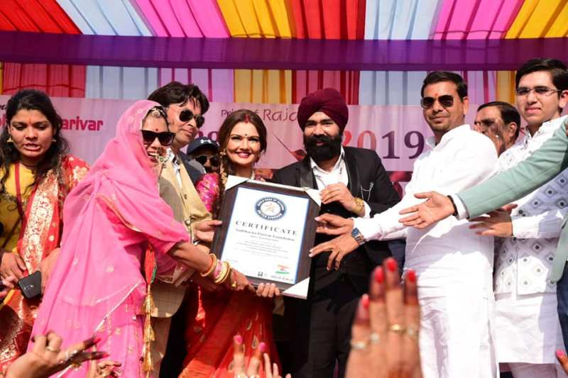 Sadbhavna Parivar Foundation of Jaipur, Rajasthan gets included by World Book of Records