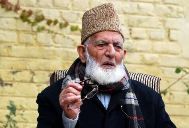 ED imposes Rs 14.40 lakh penalty on separatist leader Syed Ali Shah Geelani