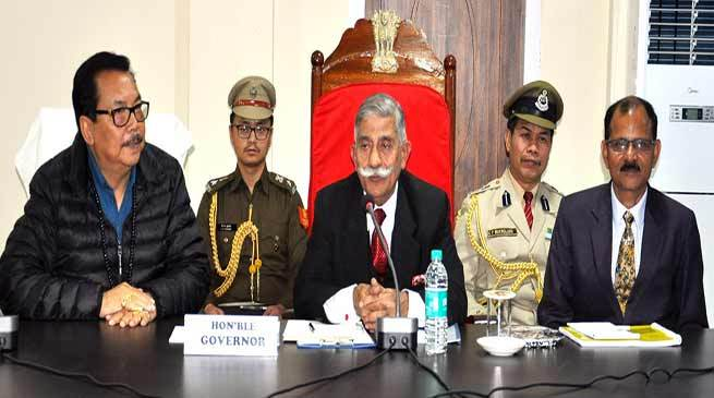 Arunachal governor launches youth employment mission to secure China border