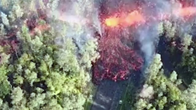 Hawaii's Big Island on high alert as Kilauea volcano spews lava into residential areas