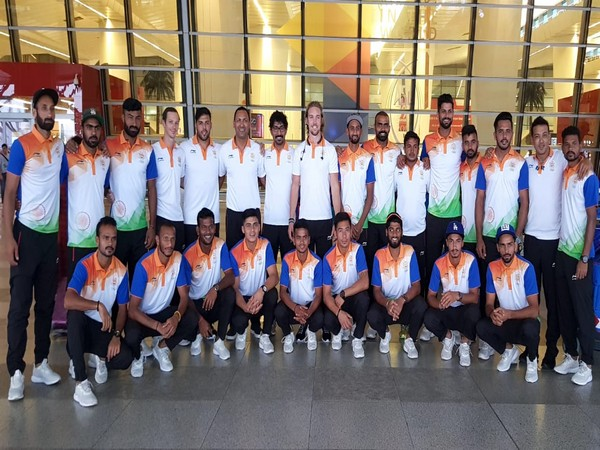 India hockey squad depart for Asian Games