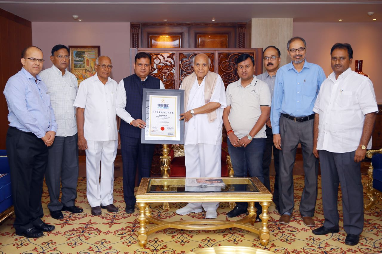 ​Ramoji Film City of Hyderabad (Telangana) Bags World Record​