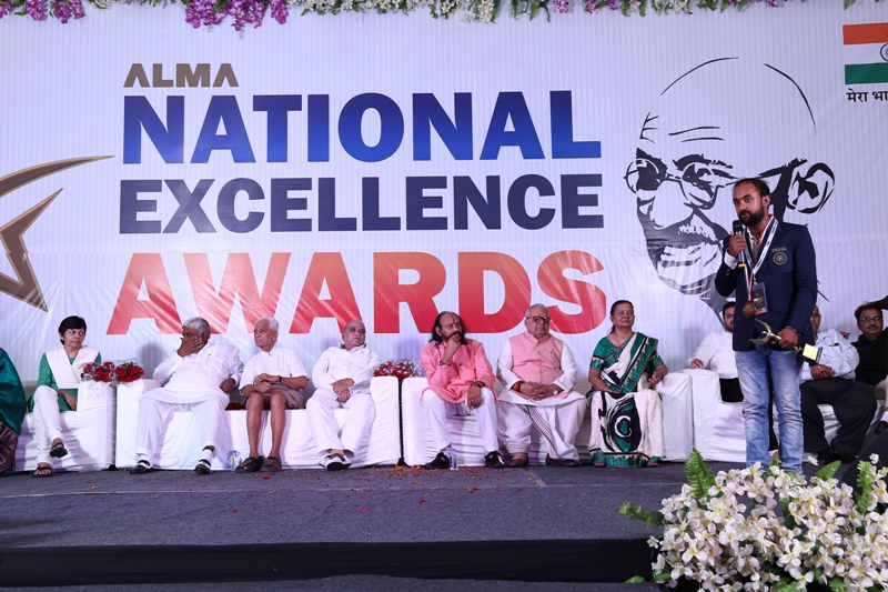 Indian and foreigners get honor by Prestigious Alma National Excellence Awards 2017