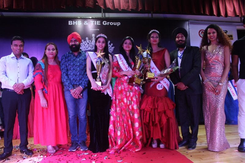 Ayushi Sethi of Dharamshala (HP) Bags title of Miss North India Beauty Queen - 2017